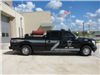Black and silver Brush Truck