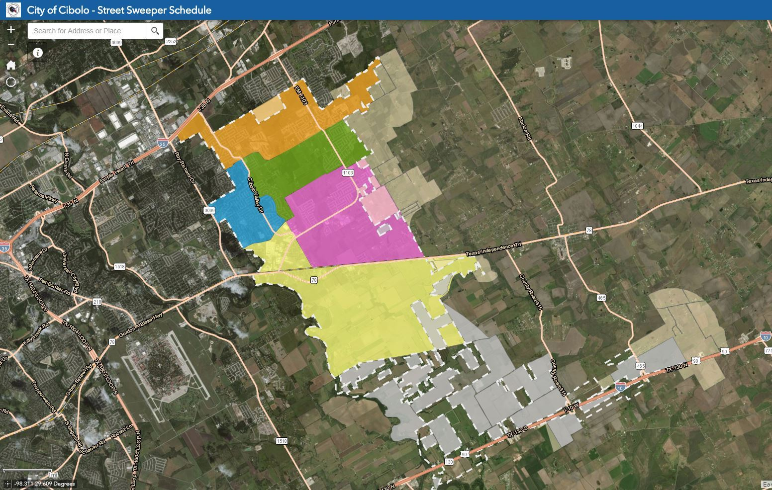 GIS Mapping & Information | Cibolo, TX - Official Website on