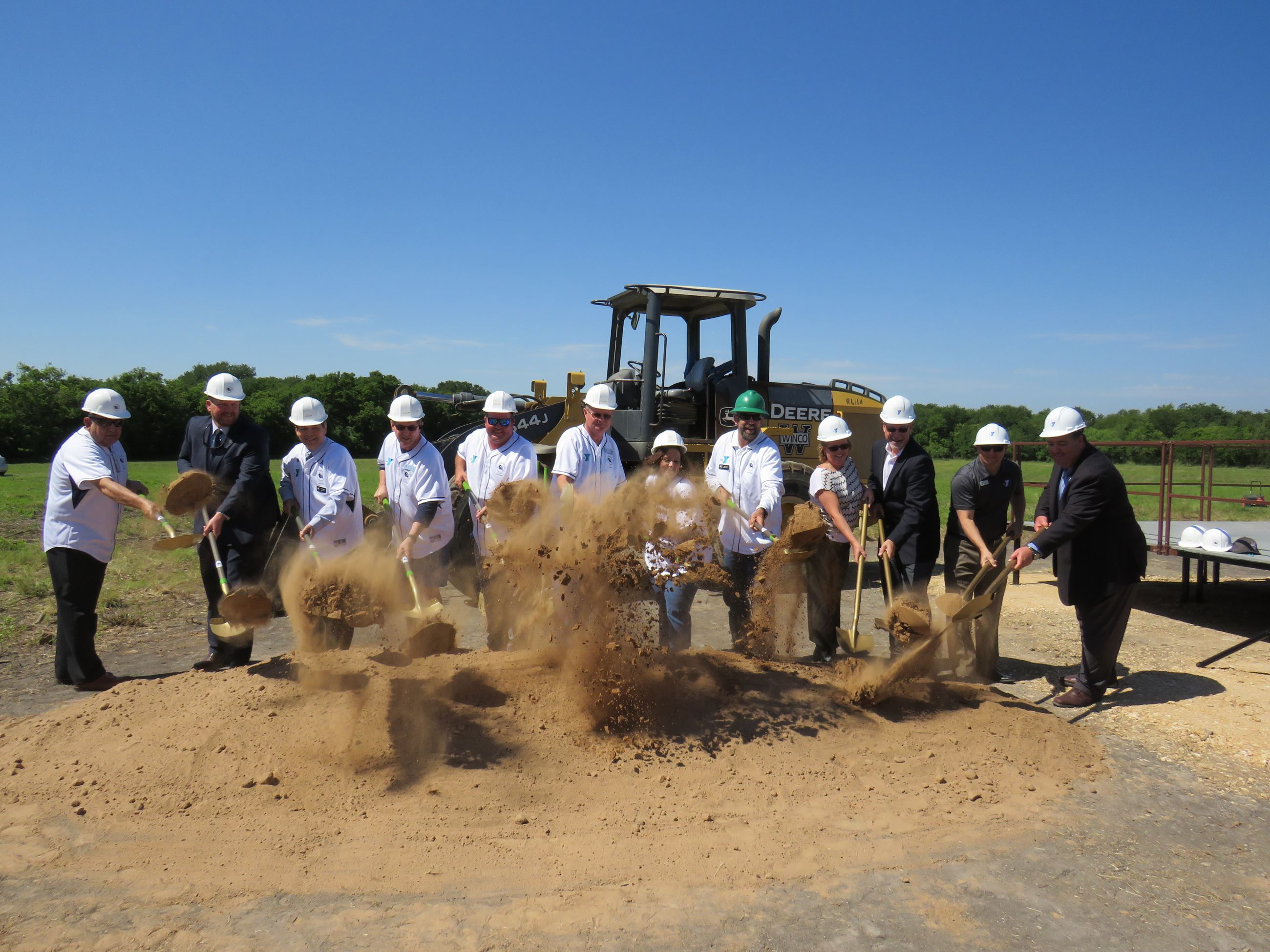 Cibolo Family YMCA Groundbreaking
