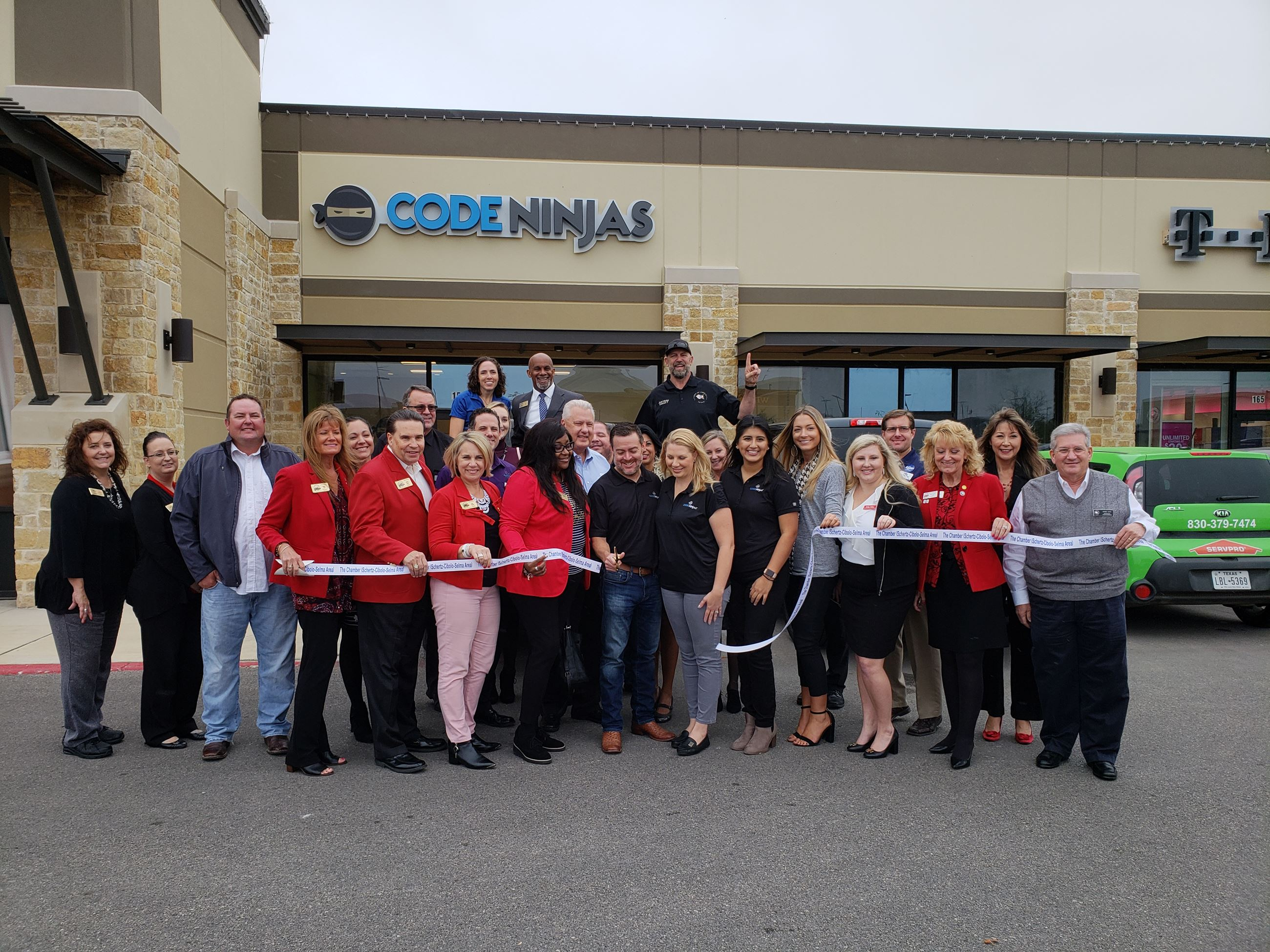 Code Ninjas Ribbon Cutting