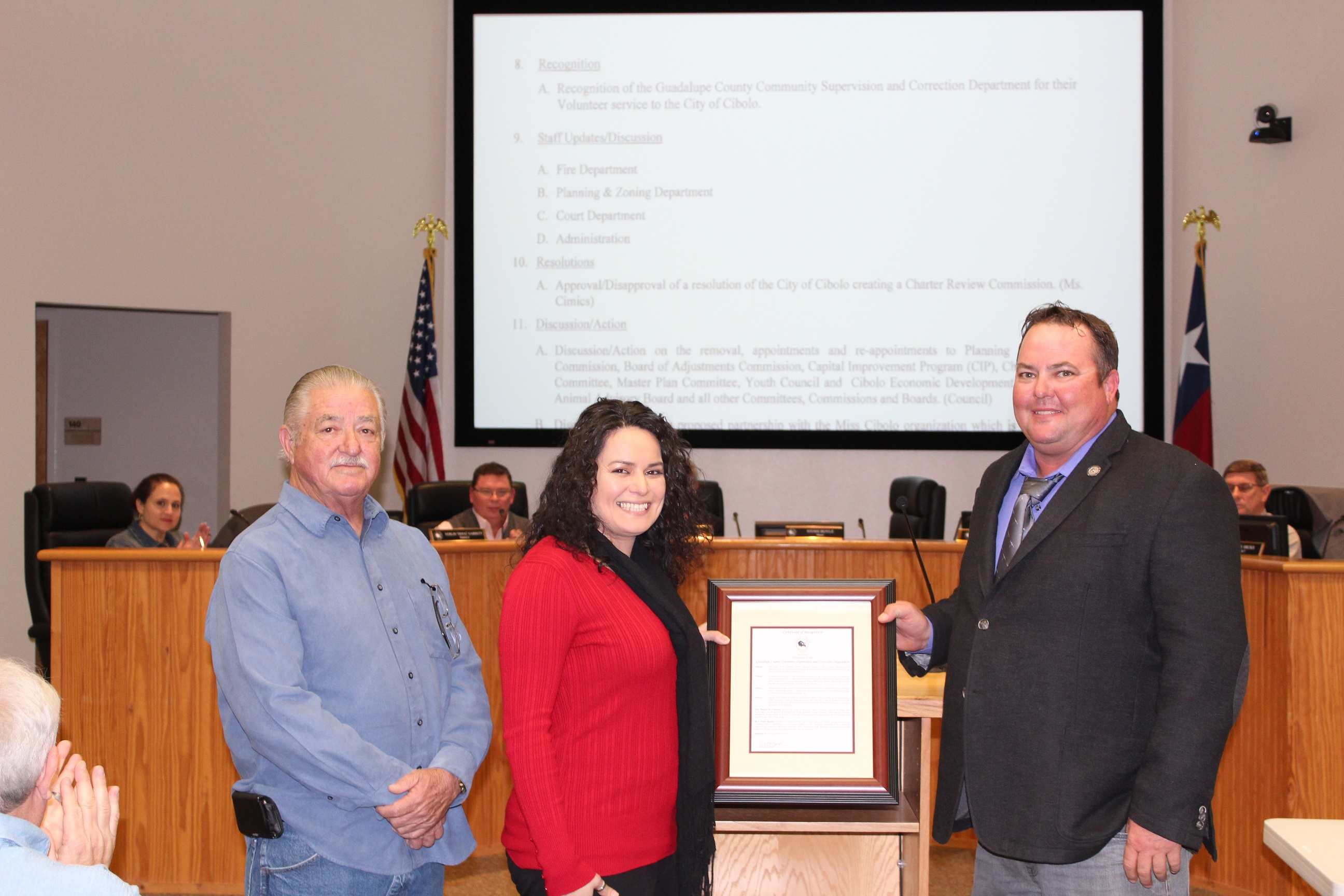 City of Cibolo Recognition of the Guadalupe Count
