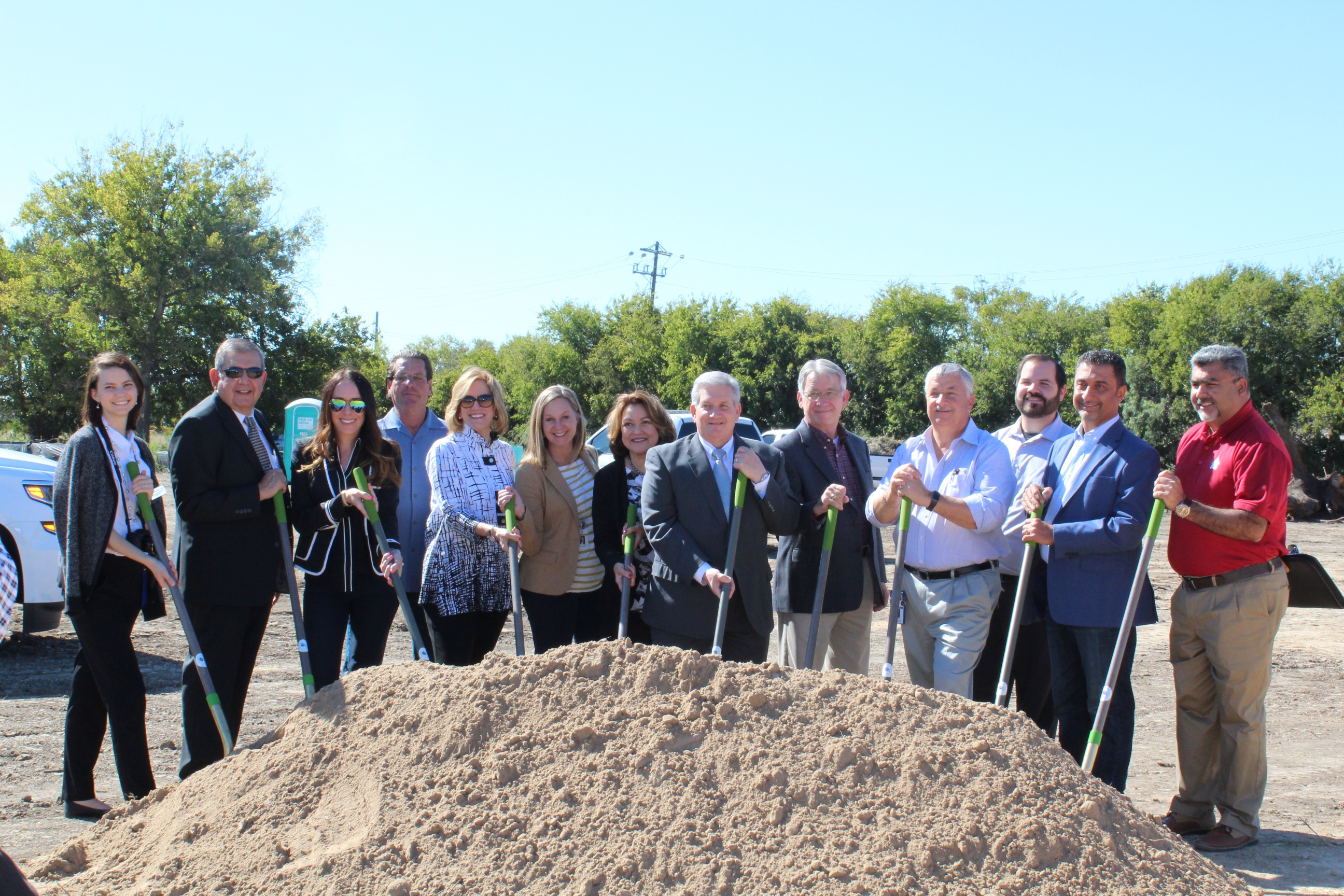 Borgfeld Manor Apartments Ground Breaking